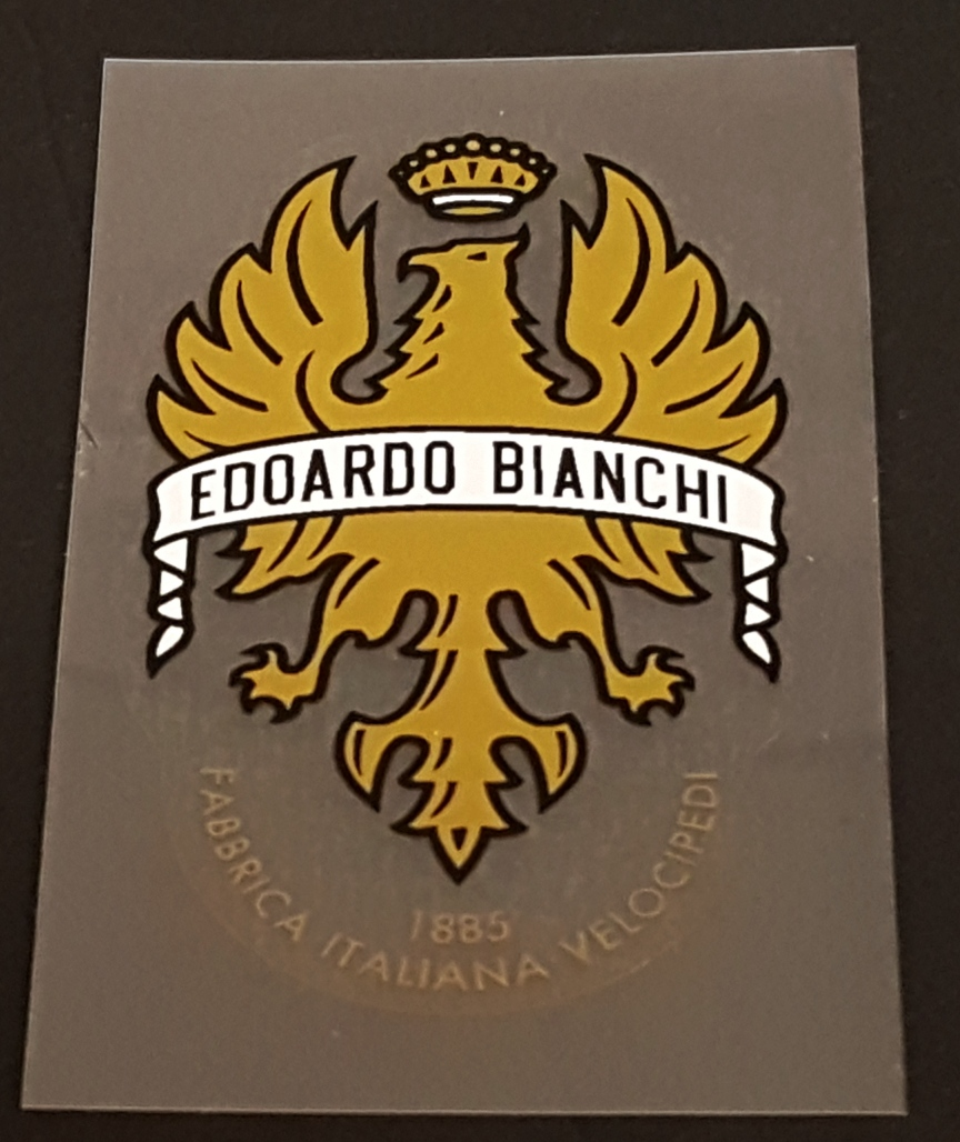 Bianchi Head Badge Decal