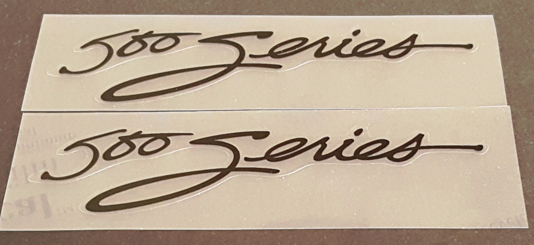 Trek 1984-85 Top Tube Decals - 1 Pair - Choice of Color/Size/Model