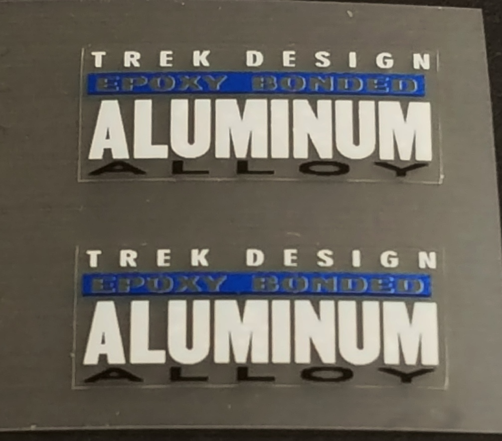 Trek 1990s Fork Tubing Decals - 1 Pair