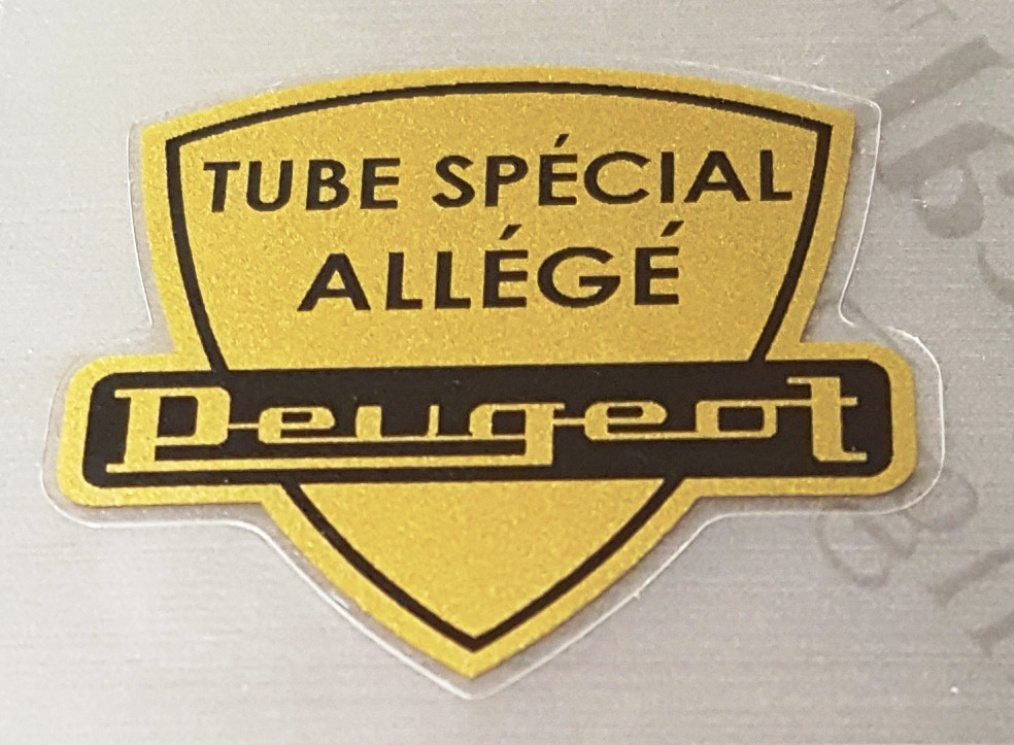 Peugeot  Special Allege Tubing Decal - Shield