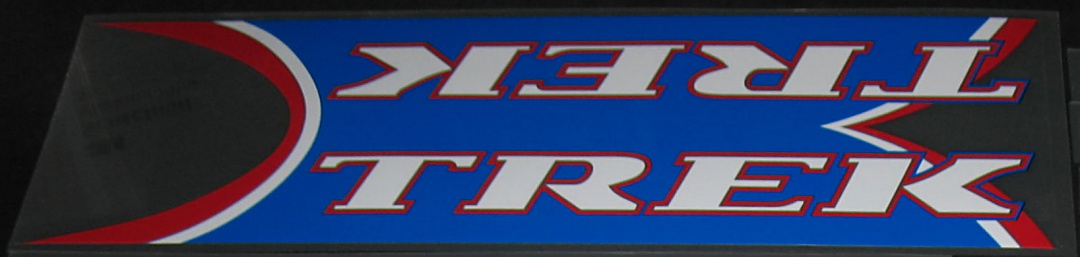Trek 2001 OCLV Down Tube Decal - Choice of Colors