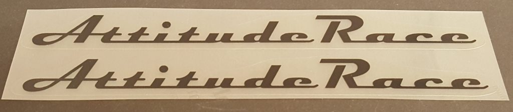 Klein Attitude Race Top Tube Decals - 1 Pair - Choose Color