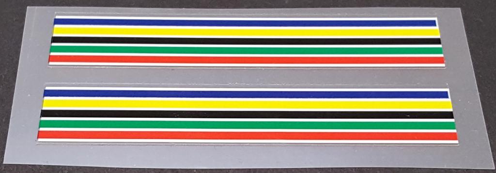 Schwinn Colored Band Decals - 1 Pair - Choose Size