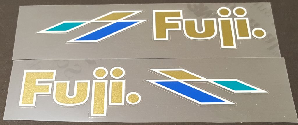 Fuji Ace Down Tube Decals - 1 Pair - Choice of Colors