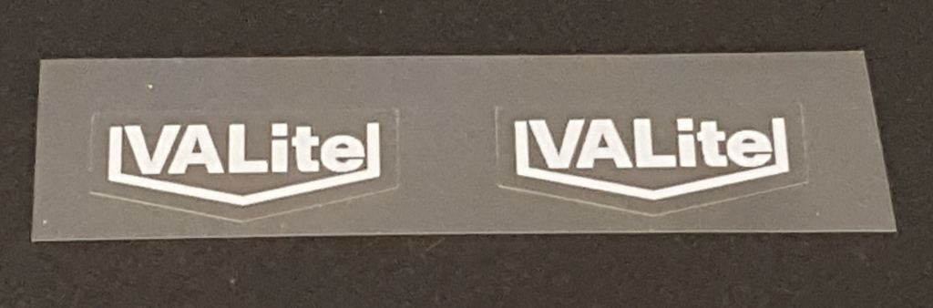 Fuji VALite Fork Decals - 1 Pair - Choose Color/Size