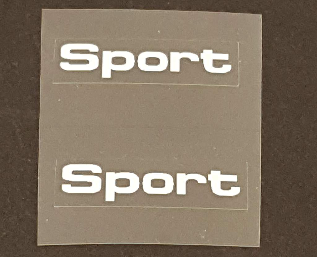 Bianchi Sport Top Tube Decals  - 1 Pair - Choose Color