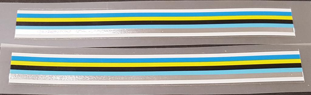 Fuji Stripes Decals - 1 Pair