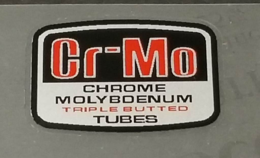 Miyata Chrome Molybdenum Tubing Decal