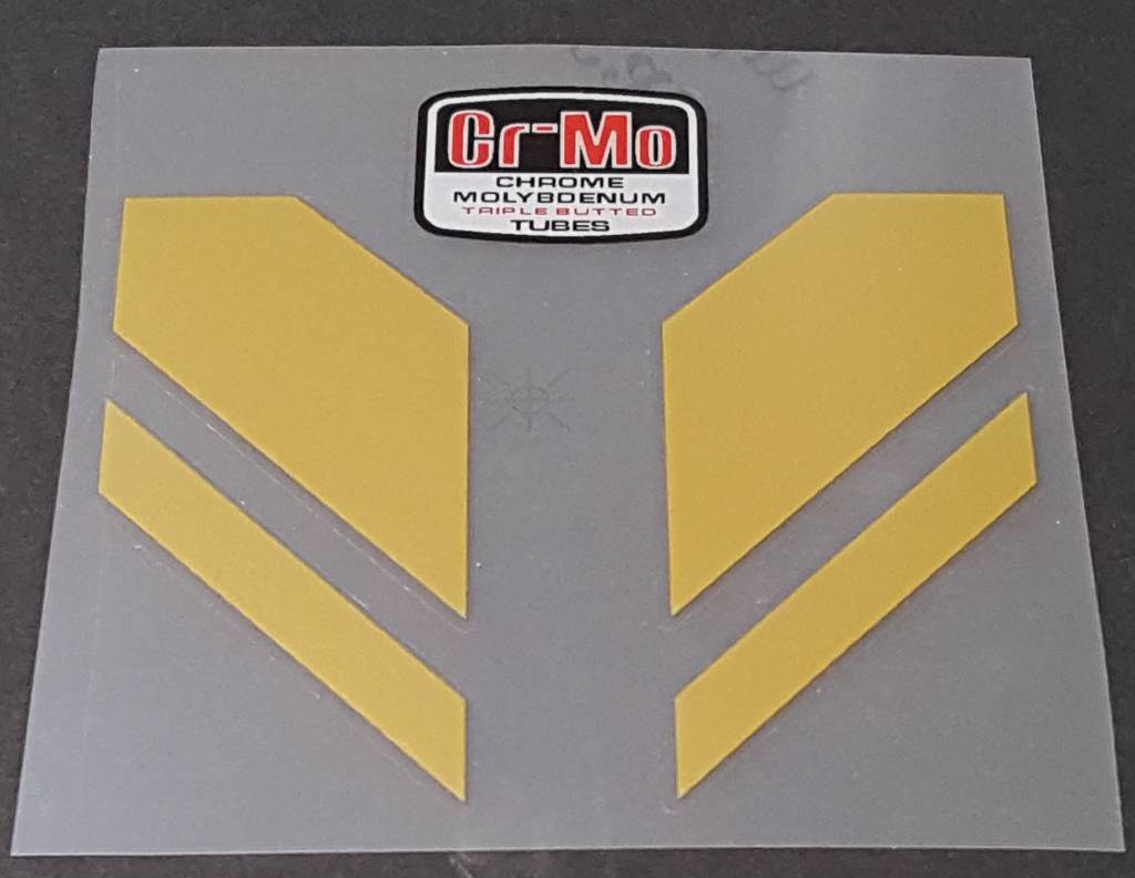 Miyata Chevron Seat Tube Assembly Decal - Choose Color