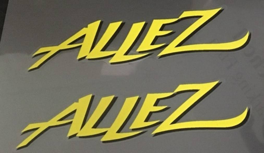 Specialized Allez Down Tube Decals  - 1 Pair - Choose Colors