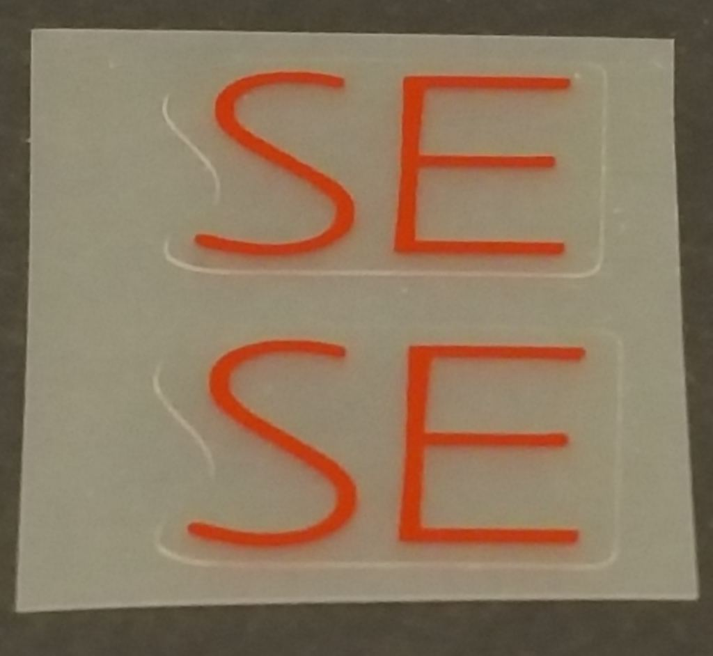 Specialized SE Top Tube Decals  - 1 Pair - Choose Color