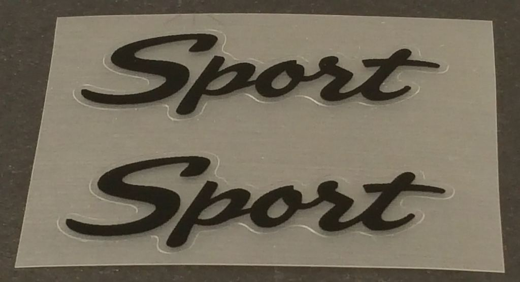 Specialized Sport Tube Decals  - 1 Pair - Choose Color