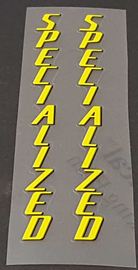 Specialized Seat Tube Decals - 1 Pair - Choose Colors