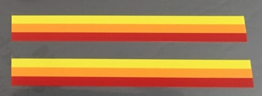 Specialized Yellow/Orange/Red Bands - 1 Pair
