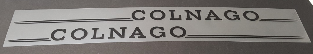 Colnago Master Down Tube Decals - 1 Pair - Choose Color