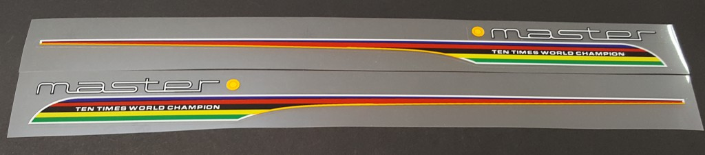 Colnago Master Top Tube Decals - 1 Pair - Choose Colors