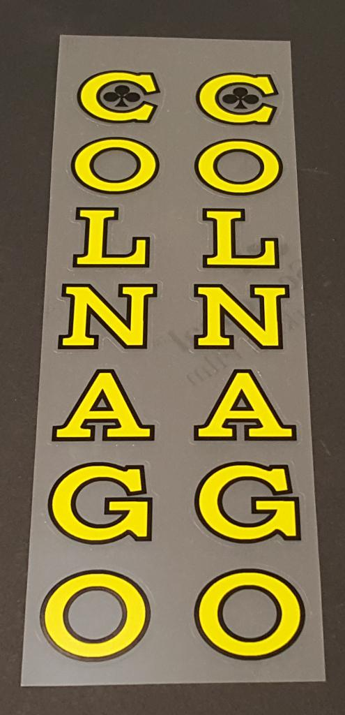 Colnago Large Seat Tube Decals - Choose Color