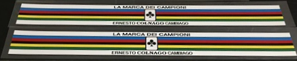 Colnago Long Colored Bands - 1 Pair