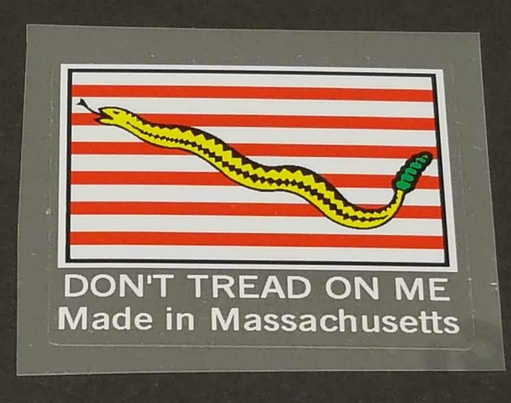 Fat Chance Seat Tube Decal - Made In Massachusetts - White