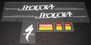 Specialized Sequoia Decal Set
