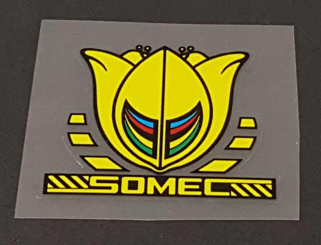 Somec Head Badge Decal - Choice of Color