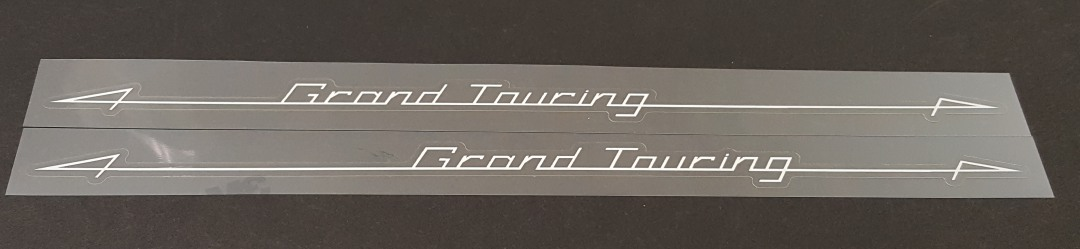 Motobecane Grand Touring Top Tube Decals - 1 Pair - Choose Color