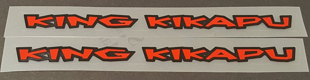 Kona 1998 Top Tube Decals - 1 Pair - Choose  Model/Colors