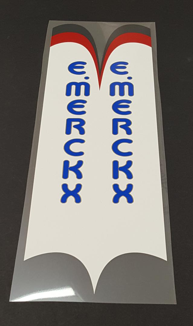 Eddy Merckx Seat Tube Wrap Decal