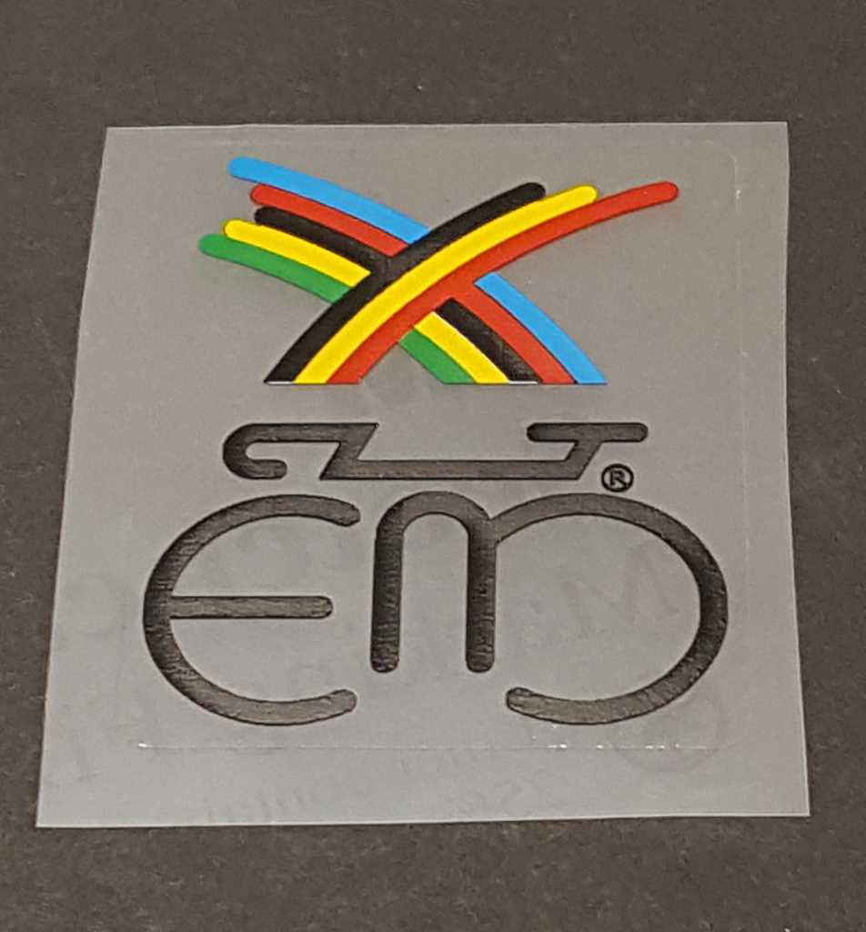 Eddy Merckx Rainbow Head Badge Decal