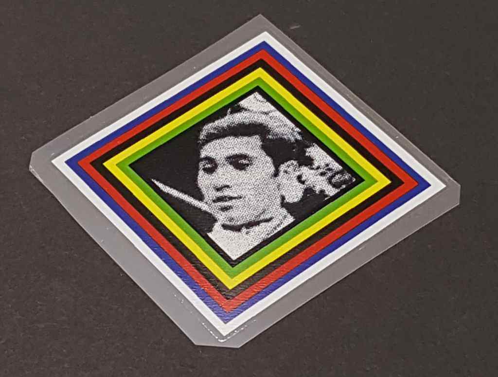 Eddy Merckx Photo Head Badge Decal