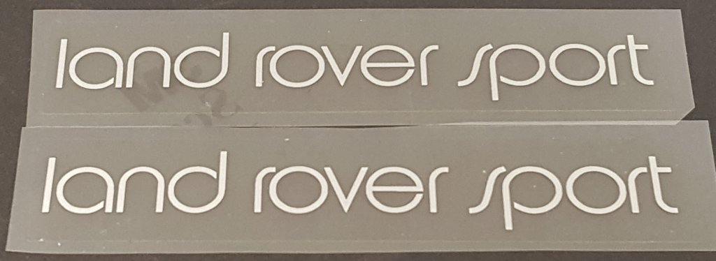 Univega Land Rover Sport Top Tube Decals - 1 Pair - Choose Color