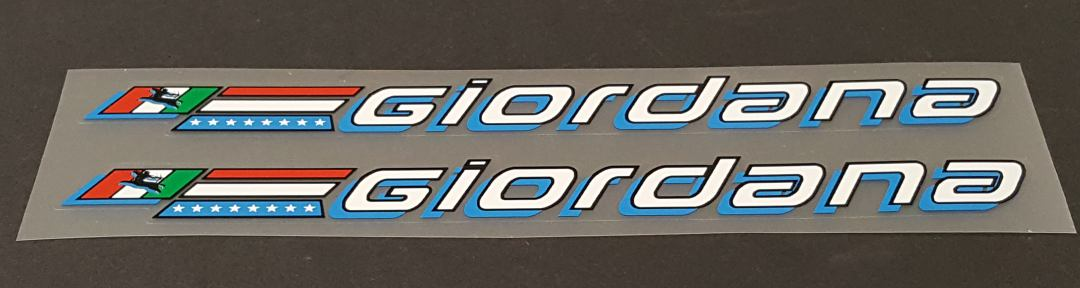 Giordana Down Tube Decals - 1 Pair - Choose Colors