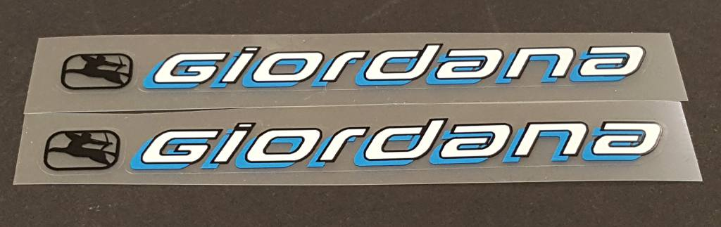 Giordana Seat Stay Decals - 1 Pair