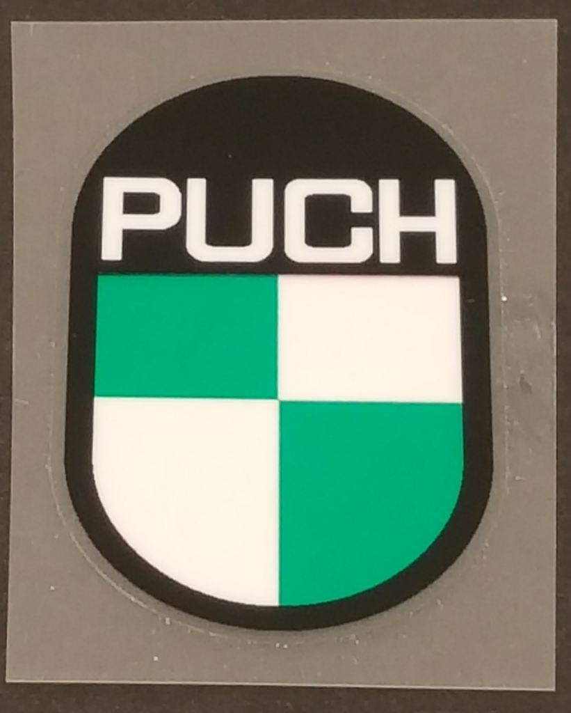 Puch Head badge Decal
