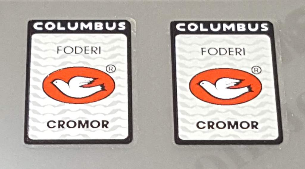 Columbus Cromor Fork Tubing Decals - 1 Pair