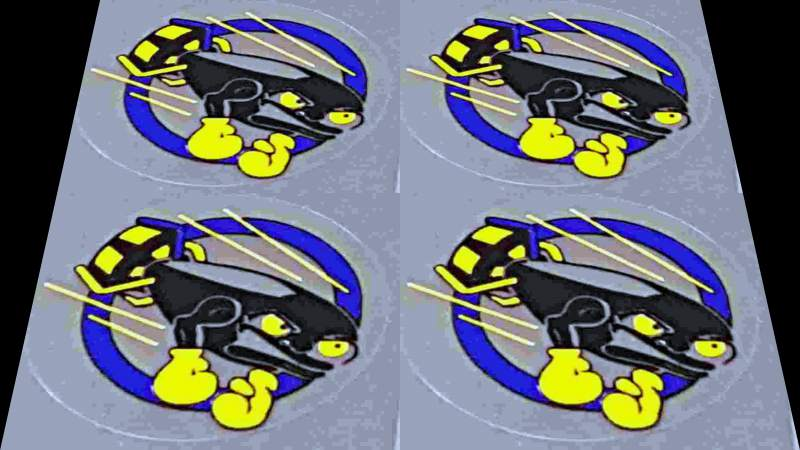 Airborne Torpedo Top Tube Decals - Set of 4