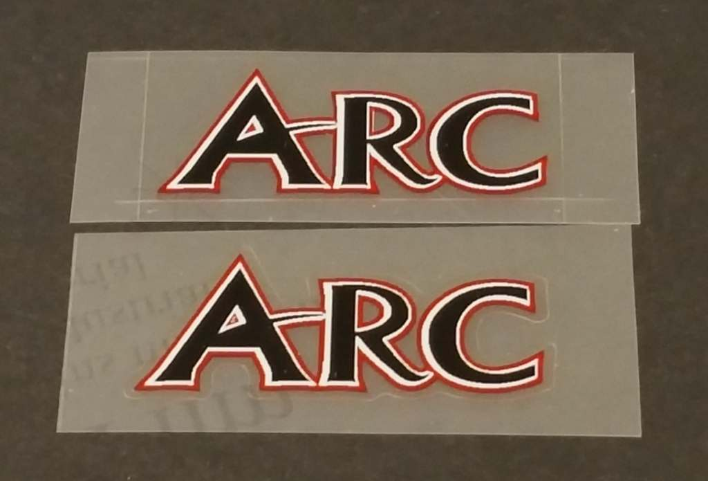 Airborne Stay Decals  - 1 Pair