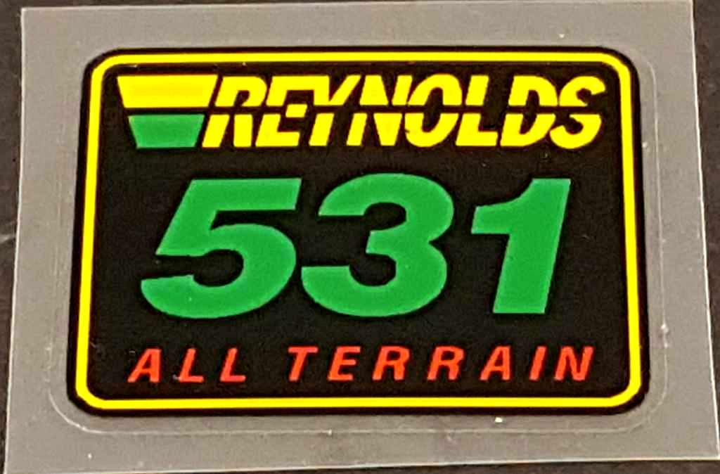 Reynolds 531 All Terrain Decal