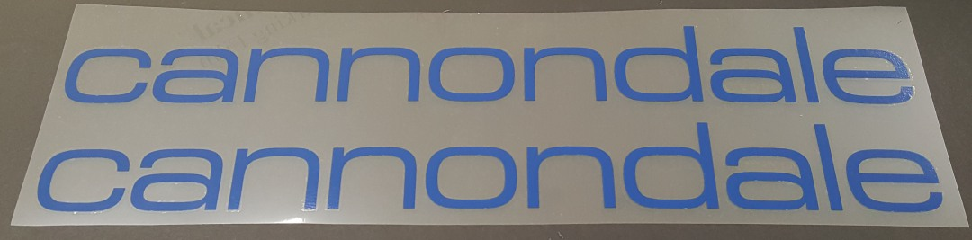 Cannondale Classic Large Format Down Tube Decals - 1 Pair - Choose Color