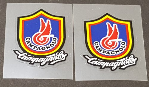Campagnolo Fork Tubing Decals - 1 Pair