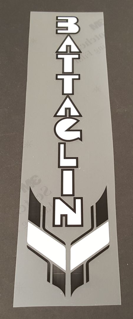 Battaglin Outrageous Seat Tube Decal