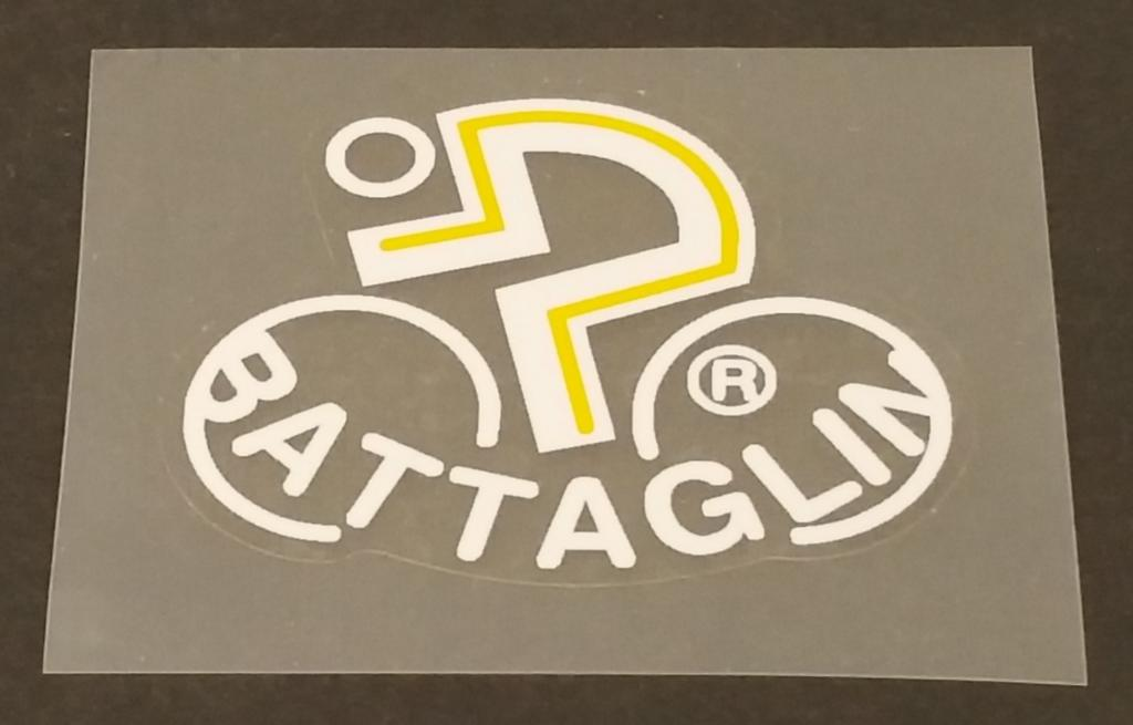 Battaglin Head Badge Decal - Choose Colors