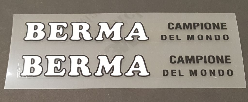 Berma Stay Decals - 1 Pair