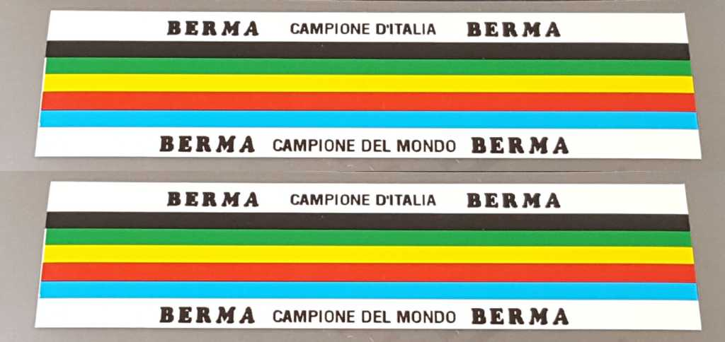 Berma Colored Band Decals
