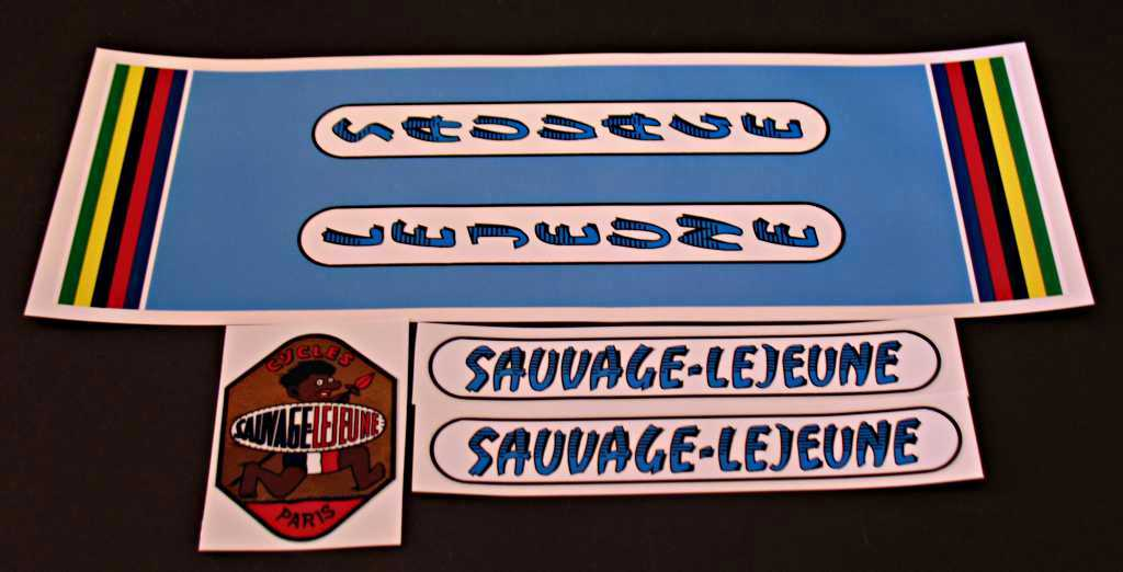 Sauvage-Lejeune Bicycle Decal