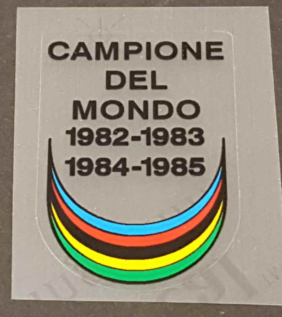 Atala Campione del Mondo Down Tube Badge Decal