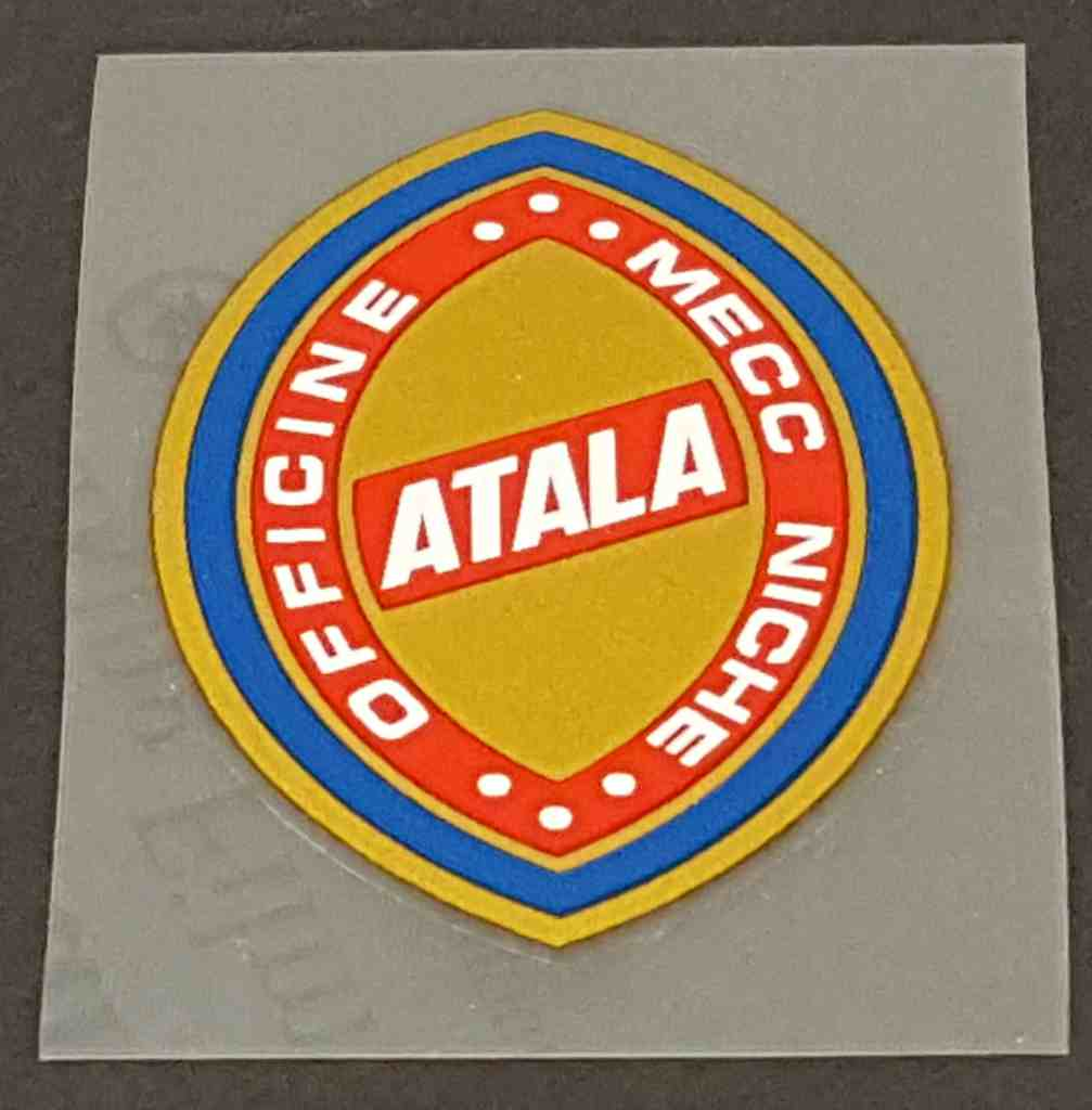 Atala Head Badge Decal