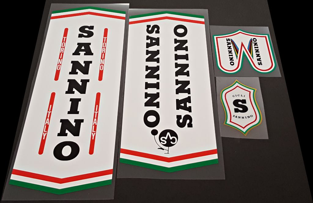 Sannino Bicycle Decal Set