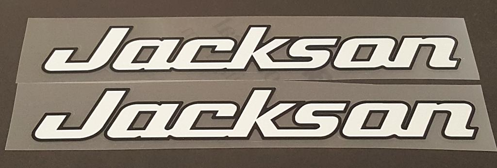"Bob Jackson ""Jackson"" Seat Tube Decals - 1 Pair - Choose Colors"