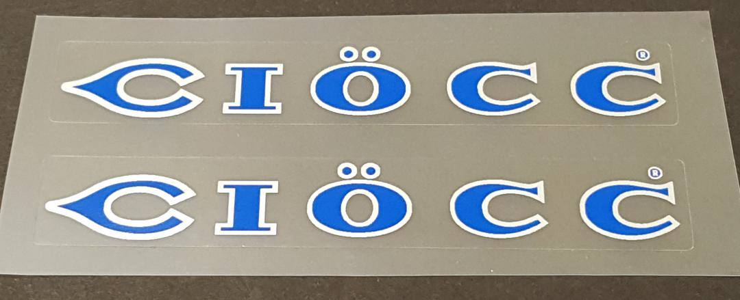 Ciocc Stay Decals - 1 Pair - Choose Colors